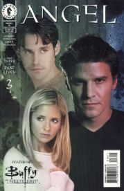 Angel #16 Photo Cover (1999) Buffy Crossover Dark Horse comic book